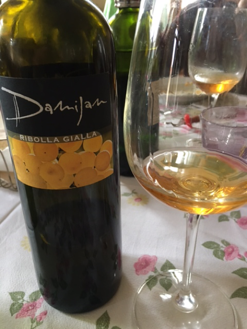 orange wine: ribolla gialla by damijan podversic