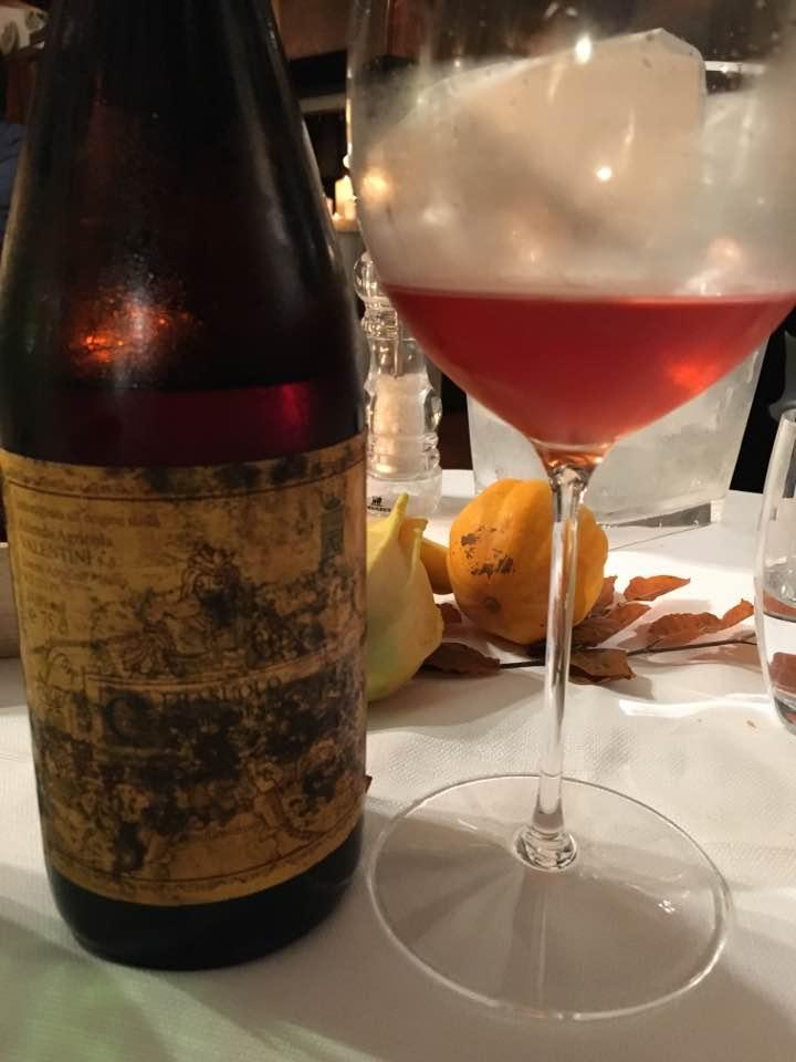 trattoria al grop valentini wine